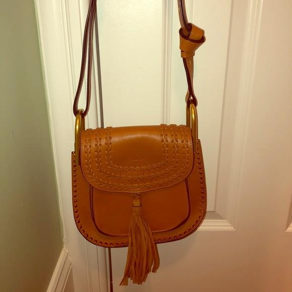 94385ae78c Chloe Hudson Medium Caramel Tassel Bag